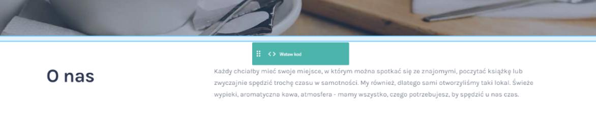 Umieść widget w dowolnym miejscu strony internetowej