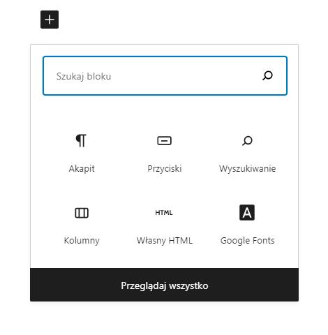 Jak dodać wyszukiwarkę w tekście strony WordPress?
