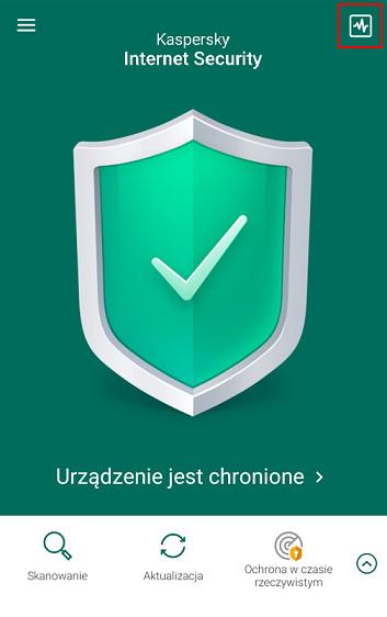 Aplikacja mobilna Kaspersky