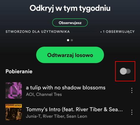 Jak słuchać Spotify offline? Pobieranie muzyki w Spotify Premium