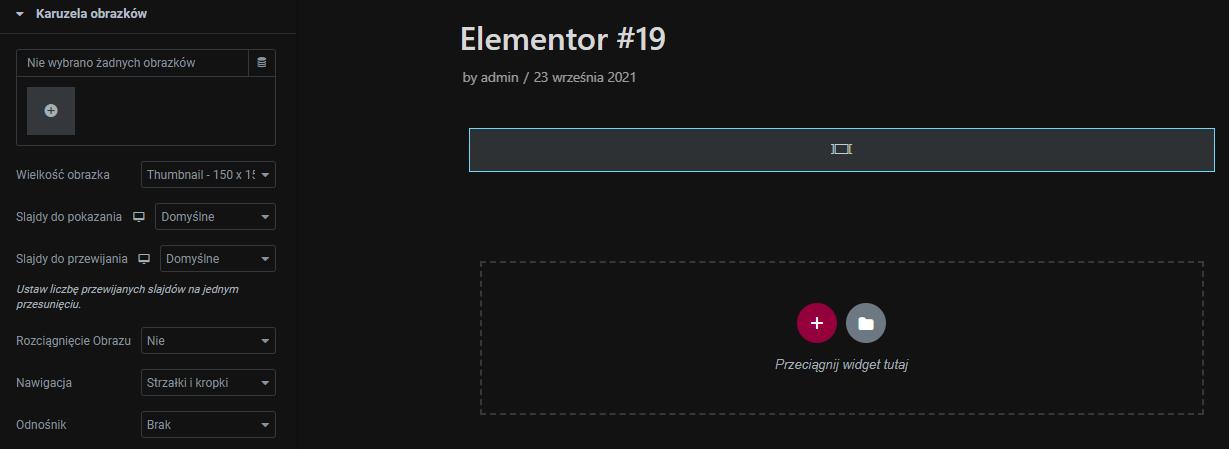 Edytuj ustawienia modułu dodając m.in. obrazki oraz personalizując ustawienia przewijania