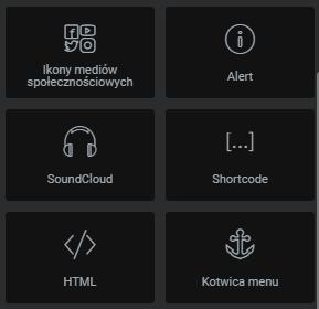 Dodaj moduł shortcode w Elementor i wstaw go w treść strony