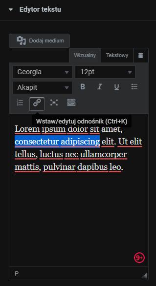 Elementor: Jak dodać odnośnik do zewnętrznej strony?