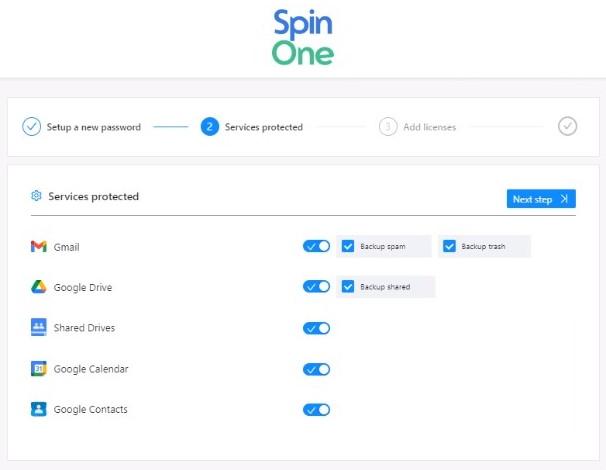 Użytkownicy licencji Spin